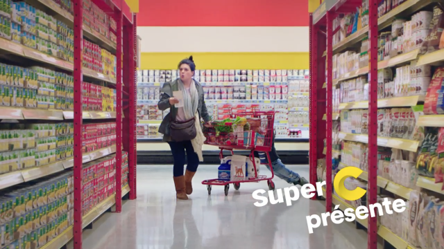 Super C presents a grocery hero